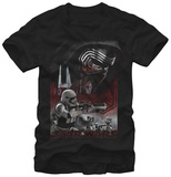 Star Wars The Force Awakens- Kylo Ren In Command T-shirts