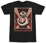 Star Wars The Force Awakens- BB-8 Astro Droid Shirt