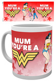 DC Comics Wonder Mum Mother's Day Mug Taza