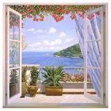 Finestra sul mare Kunst af Andrea Del Missier