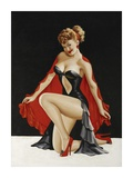 Mid-Century Pin-Ups - Magazine Cover - Little Red Cape Posters by Peter Driben