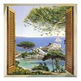 Finestra sul Mediterraneo Posters af Andrea Del Missier
