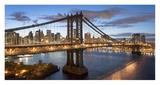 Manhattan Bridge, New York City (detail) Posters by Ted Horowitz