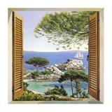 Finestra sul Mediterraneo Kunst af Andrea Del Missier