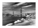 Golden Gate Bridge spanning San Francisco Bay Art by David Muench