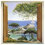 Finestra sul Mediterraneo Plakater af Andrea Del Missier