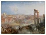 Modern Rome - Campo Vaccino Prints by Joseph Mallord William Turner
