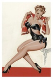 Mid-Century Pin-Ups - Wink Magazine - Silk Stockings & High Heels Prints by Peter Driben