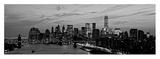 Lower Manhattan at dusk Posters by Richard Berenholtz