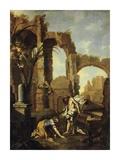 Noli Me Tangere Plakat af Alessandro Magnasco