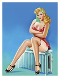 Mid-Century Pin-Ups - Wink Magazine - Warm Thoughts Prints by Peter Driben