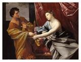 Josef og Potifars hustru Plakater af Guido Reni