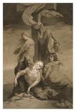 Lamentation at the Foot of the Cross Art by Henri Lehmann