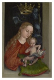 Madonna and Child in a Window Prints by Martin Schongauer