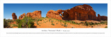 Arches National Park 3 - Double Arch Print by James Blakeway