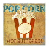 Pop Corn Prints by Skip Teller