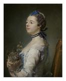 Magdaleine Pinceloup de la Grange, nee de Parseval Prints by Jean-Baptiste Perronneau