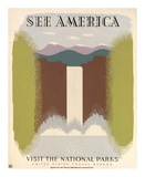 See America Visit the National Parks, ca. 1936-1940 Poster by Harry Herzog