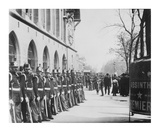 Paris, 1898-1900 - Republican Guards in front of the Palais de Justice Prints by Eugene Atget
