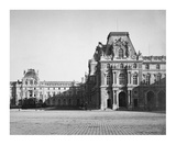 Paris, 1859 - Mollien Pavilion, the Louvre Posters by Gustave Le Gray