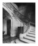 Paris, 1900 - Staircase, Hôtel de Brinvilliers, rue Charles V Posters by Eugene Atget