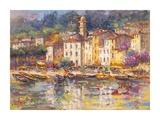 Portofino Print by Luigi Florio