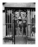 Paris, 1901 - Au bon puits, rue Michel Le Conte Poster by Eugene Atget