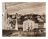 Part of Phillipsburg, New Jersey, 1935 Print by Walker Evans