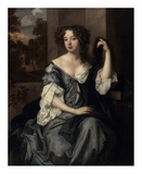 Portrait of Louise de Keroualle, Duchess of Portsmouth Posters by Peter Lely