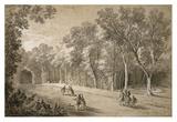 Park Scene Prints by Jean-Baptiste Oudry