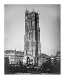 Paris, 1857-1859 - The Tour St. Jacques Posters by Gustave Le Gray