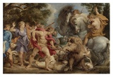 The Calydonian Boar Hunt Posters by Peter Paul Rubens