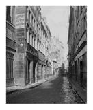 Paris, 1865 - Rue des Bourdonnais de la rue de Rivoli Print by Charles Marville