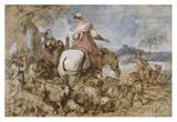 Pastoral Journey Prints by Giovanni Benedetto Castiglione