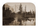 River View - Down the Valley - Yosemite, California, 1861 Posters by Carleton Watkins