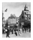 Paris, 1898-1900 - Place Saint-Medard Prints by Eugene Atget