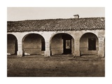 San Miguel Mission, San Miguel, California, 1876-1880 Prints by Carleton Watkins