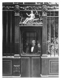 Paris, 1900 - Restaurant, rue des Blancs Manteaux Poster by Eugene Atget