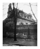 Paris, 1923 - Old Convent, avenue d l'Observatoire Posters by Eugene Atget