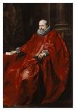 Portrait of Agostino Pallavicini Print by Anthony Van Dyck