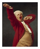 Self-Portrait, Yawning Prints by Joseph Ducreux