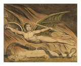 Satan Exulting over Eve Art by William Blake