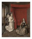 The Annunciation Art by Godfried Schalcken