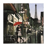 Romance in Paris Prints by Pierre Benson