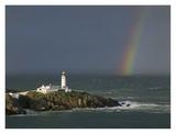 Rainbow over Fanad-Head, Ireland Plakater af Jean Guichard