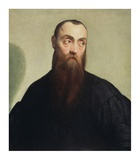 Portrait of a Bearded Man Art by Jacopo Bassano