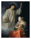 The Annunciation Poster by Godfried Schalcken