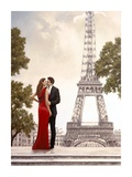 Romance in Paris I Poster by John Silver