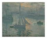 Sunrise (Marine) Prints by Claude Monet
