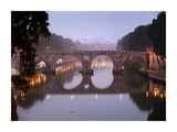 Ponte Sisto, Rome Print by Tino Soriano